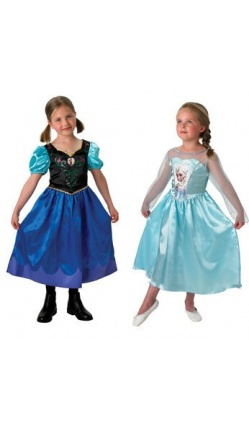 Panoplie Elsa et Anna