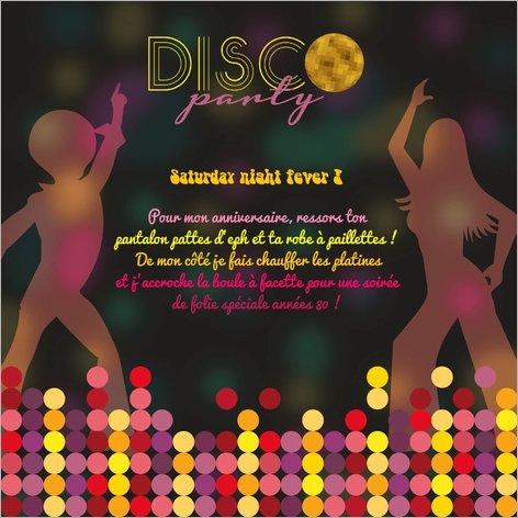 carte-invitation-anniversaire-disco