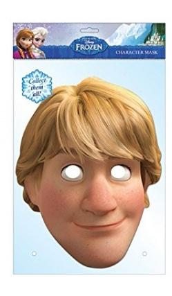 Masque en carton de Kristoff