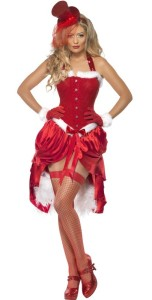 Costume mère noël burlesque