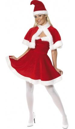 Costume miss santa